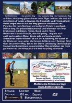 Rückseite der DVD zeigt einige Wege, die Karte der vorgestellten Wege und einen Infotext.
