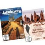 Beide Cover der Jakobsweg-DVDs von Beate Steger.