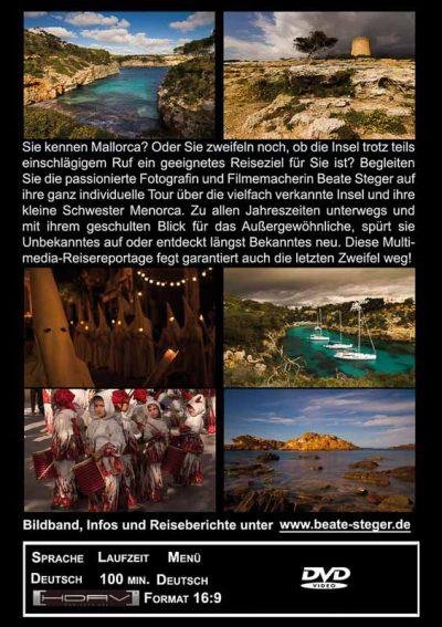 Bilder von Mallorca und Menorca mit Infotext.