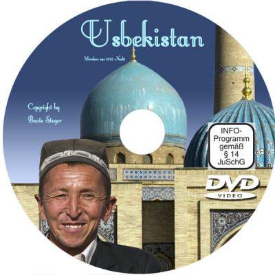 Cover der DVD zeigt Grabstätte von Timur Lenk, das Gur-Emir-Mausoleum.