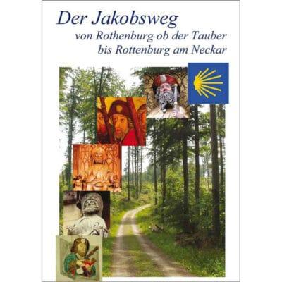 Bild Jakobsweg bei Frickenhausen mit Darstellung Jakobus in Winnenden.