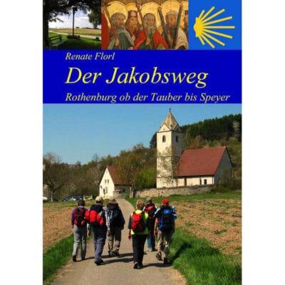 Pilger auf dem Jakobsweg bei der St. Gangolf-Kapelle in Neudenau.